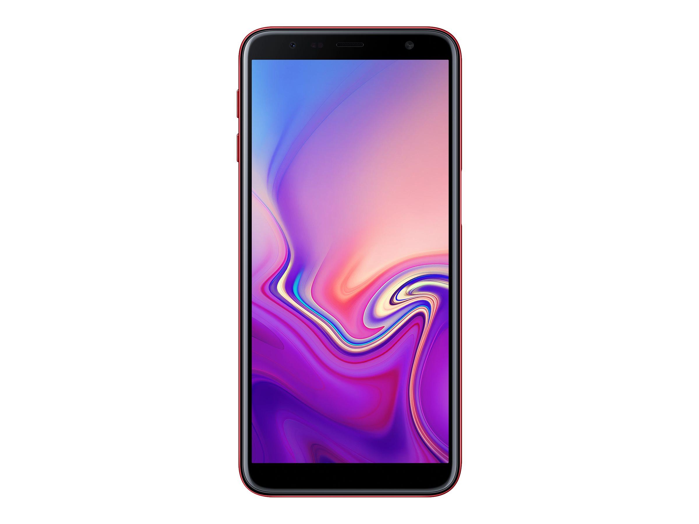 Samsung Galaxy J6+ - rouge - 4G HSPA+ - 32 Go - GSM - smartphone