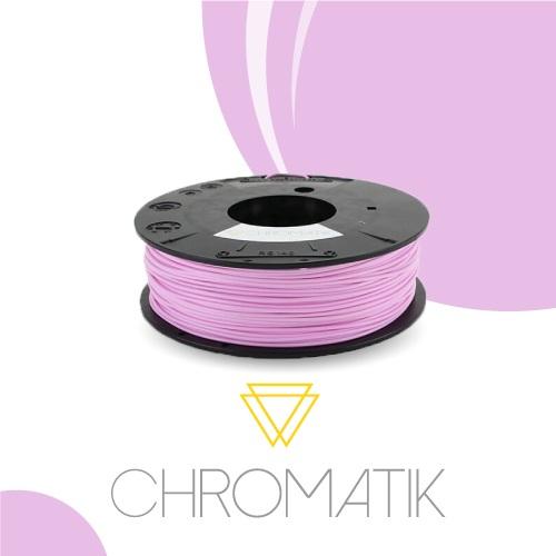 Dagoma Chromatik - filament 3D PLA - rose bonbon - Ø 1,75 mm - 750g