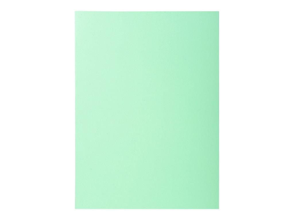 Exacompta Super 60 - 100 Sous-chemises - 60 gr - pour 100 feuilles - vert