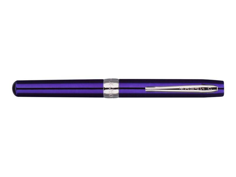 Fisher Space - Stylo à bille laqué bleu - pointe moyenne