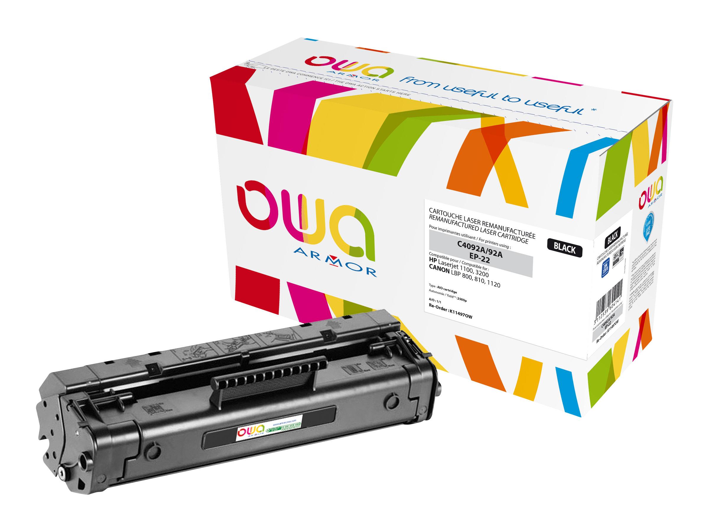 HP 92A - remanufacturé Owa K11497OW - noir - cartouche laser