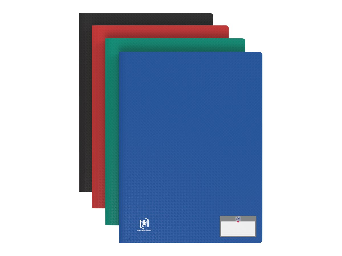 Memphis Tradition - Porte vues - 200 vues - A4 - disponible dans différentes couleurs
