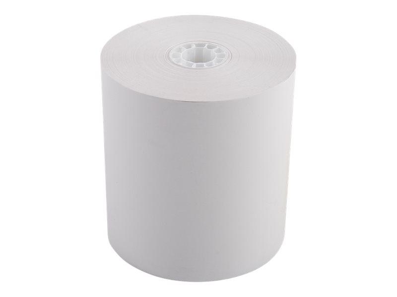 Exacompta - 5 Bobines caisses - papier thermique 80 x 80 x 12 mm - sans Bisphénol A - 72 m