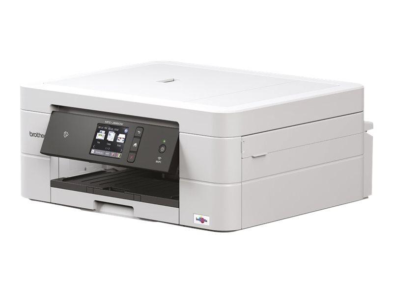 Brother MFC-J895DW - imprimante multifonctions jet d'encre couleur A4 - Wifi, USB, NFC - recto-verso - blanc