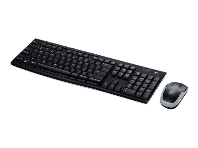 Logitech MK270 - ensemble clavier Azerty et souris sans fil
