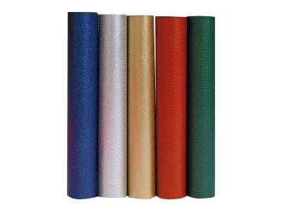 Clairefontaine - Papier cadeau uni - 70 cm x 2 m - disponible dans différentes couleurs