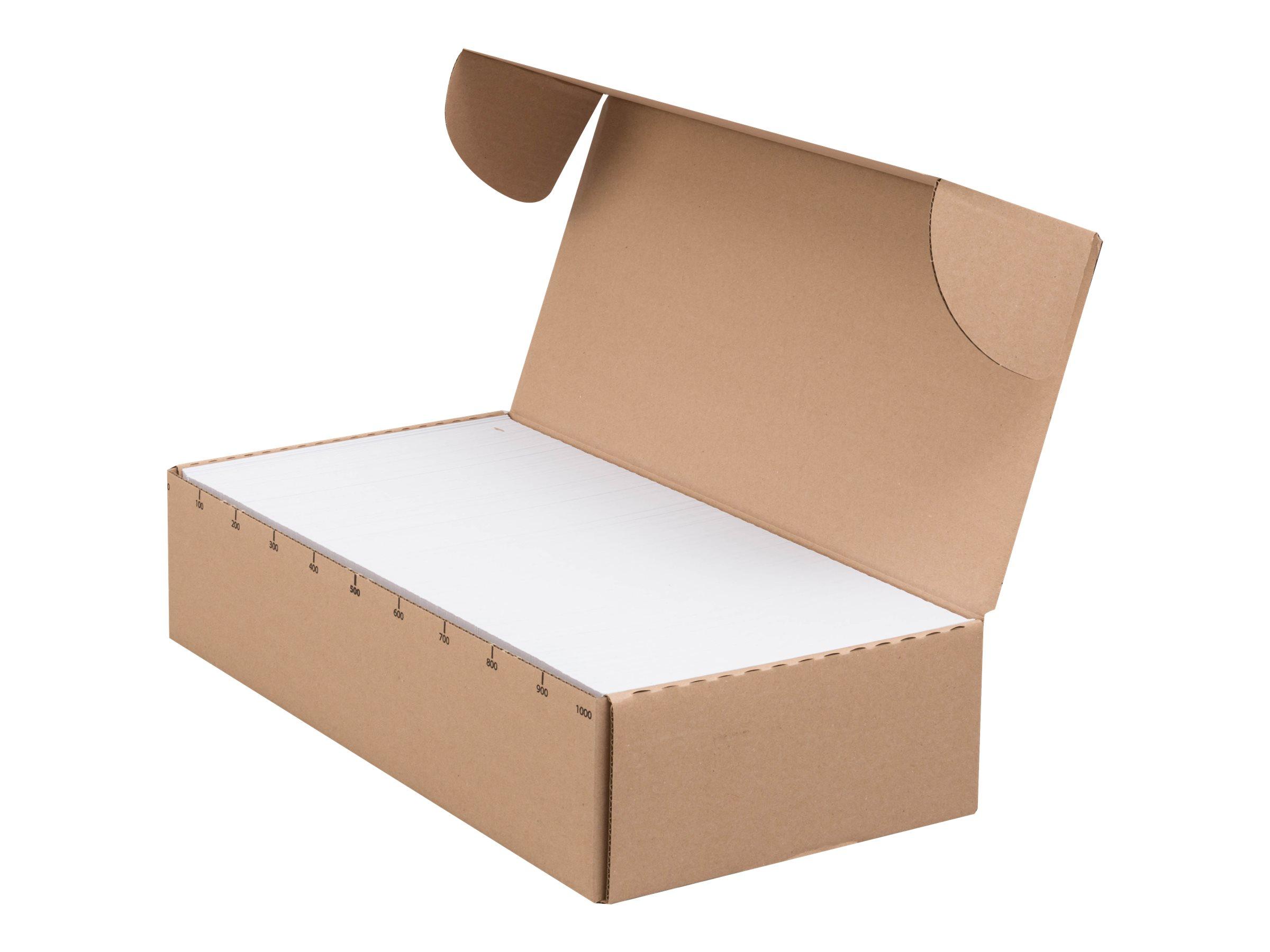GPV Envel'Matic - 500 Enveloppes patte trapèze - C5/6 114 x 229 mm - 80 gr - fenêtre 45x100 mm - blanc