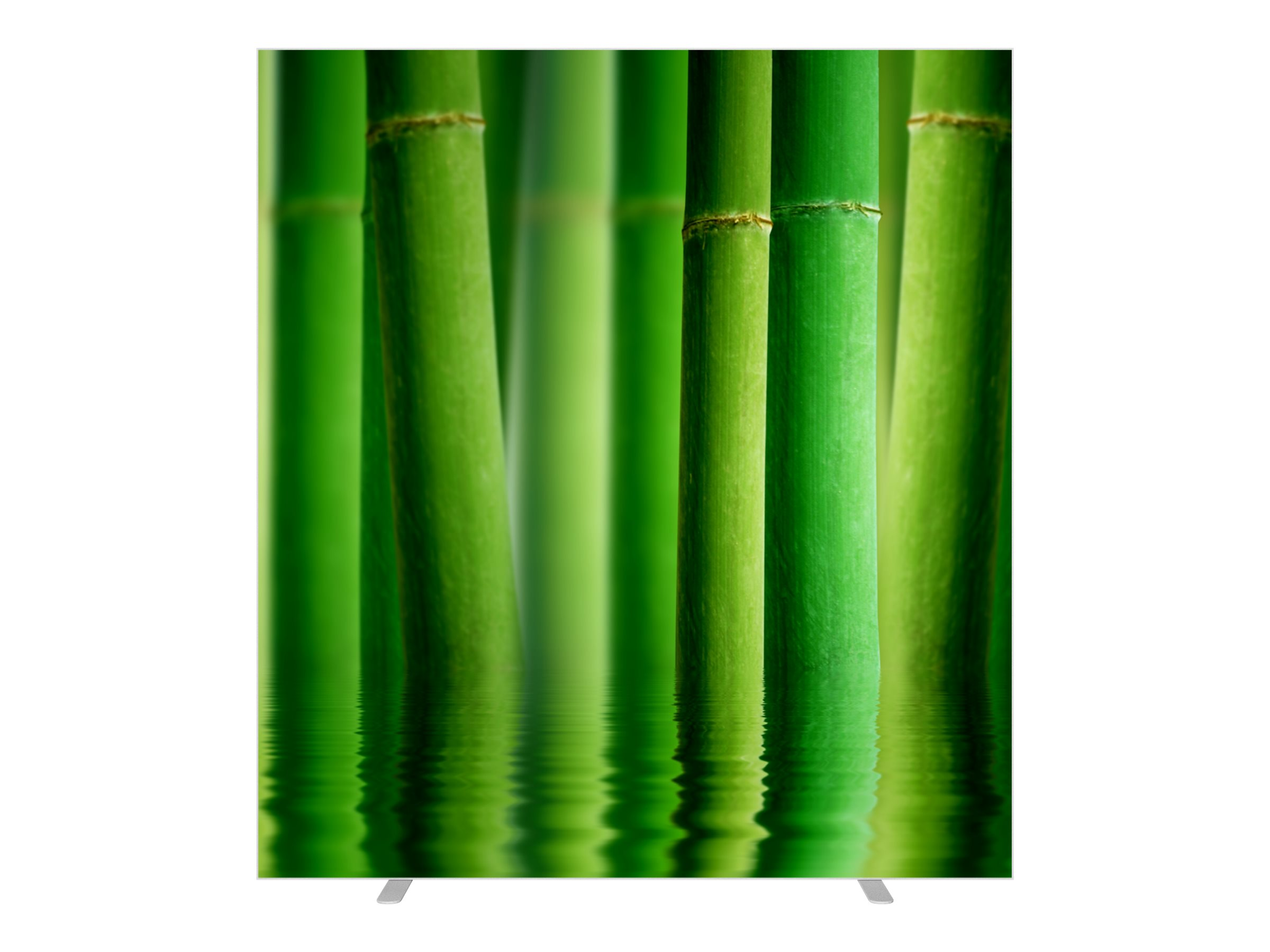 Cloison de séparation EASYSCREEN - L160 x H174 cm - bambou