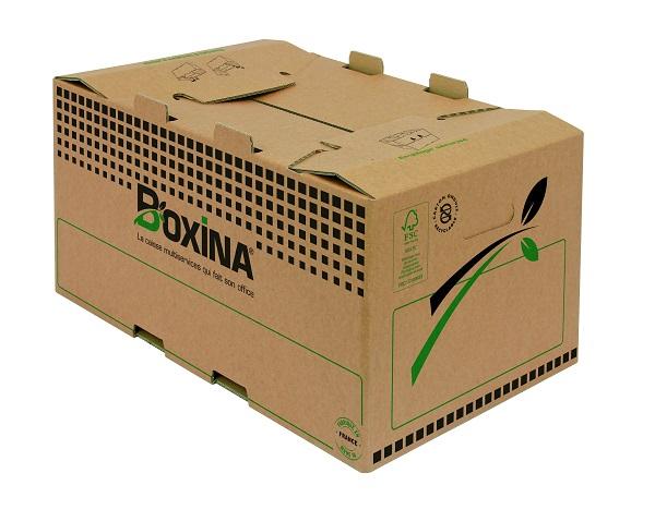 Carton Plus - Caisse multi-usage 53 cm x 35 cm x 26,8 cm
