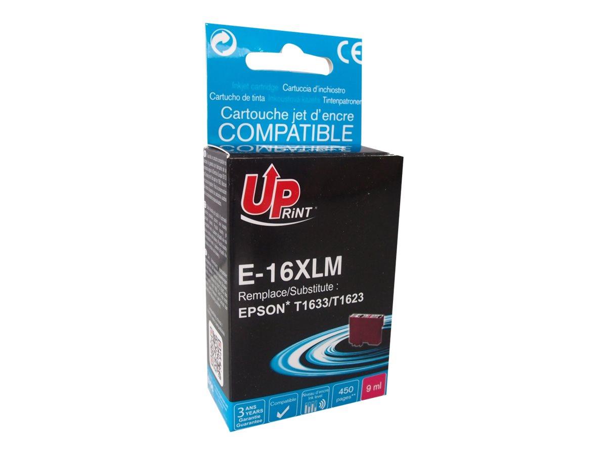 Epson 16XL Stylo plume - compatible UPrint E.16XLM - magenta - cartouche d'encre