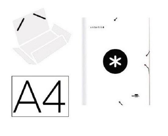 Antartik - Chemise à rabats - A4 - blanc