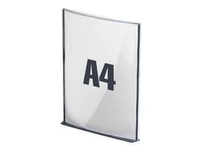 Plaque de signalisation Cinatur - Format A4 - Anthracite