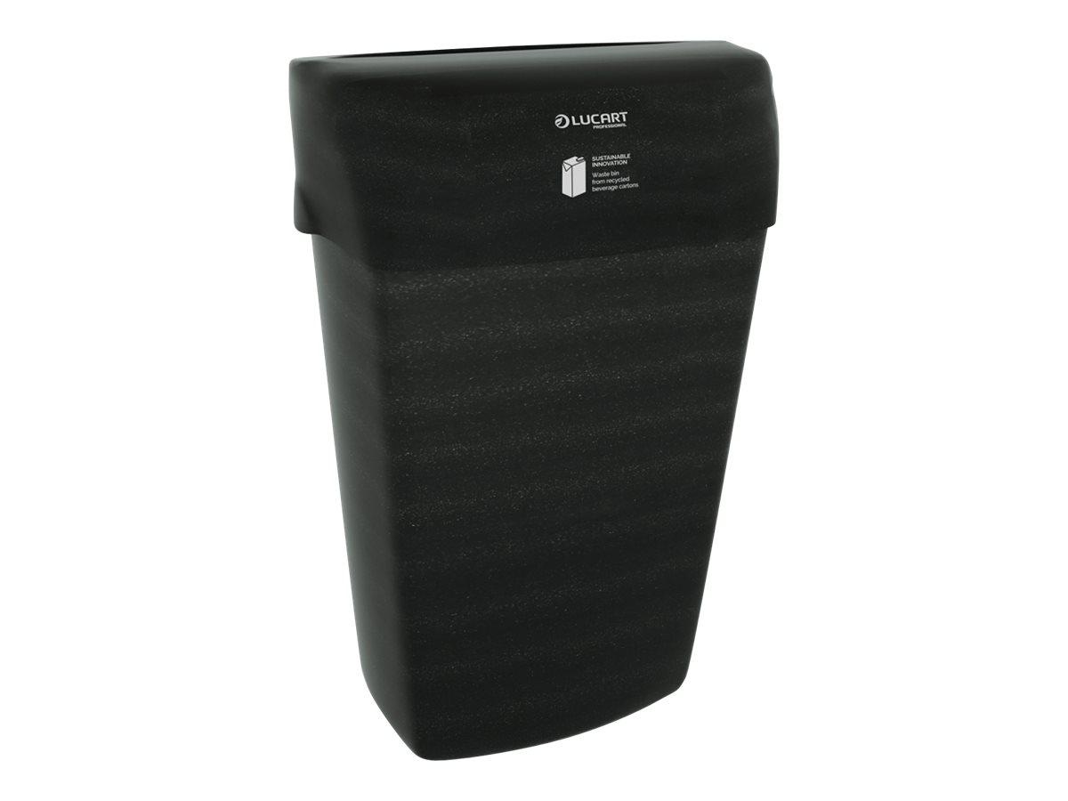 Lucart Professional EcoNatural - Poubelle noire 23L