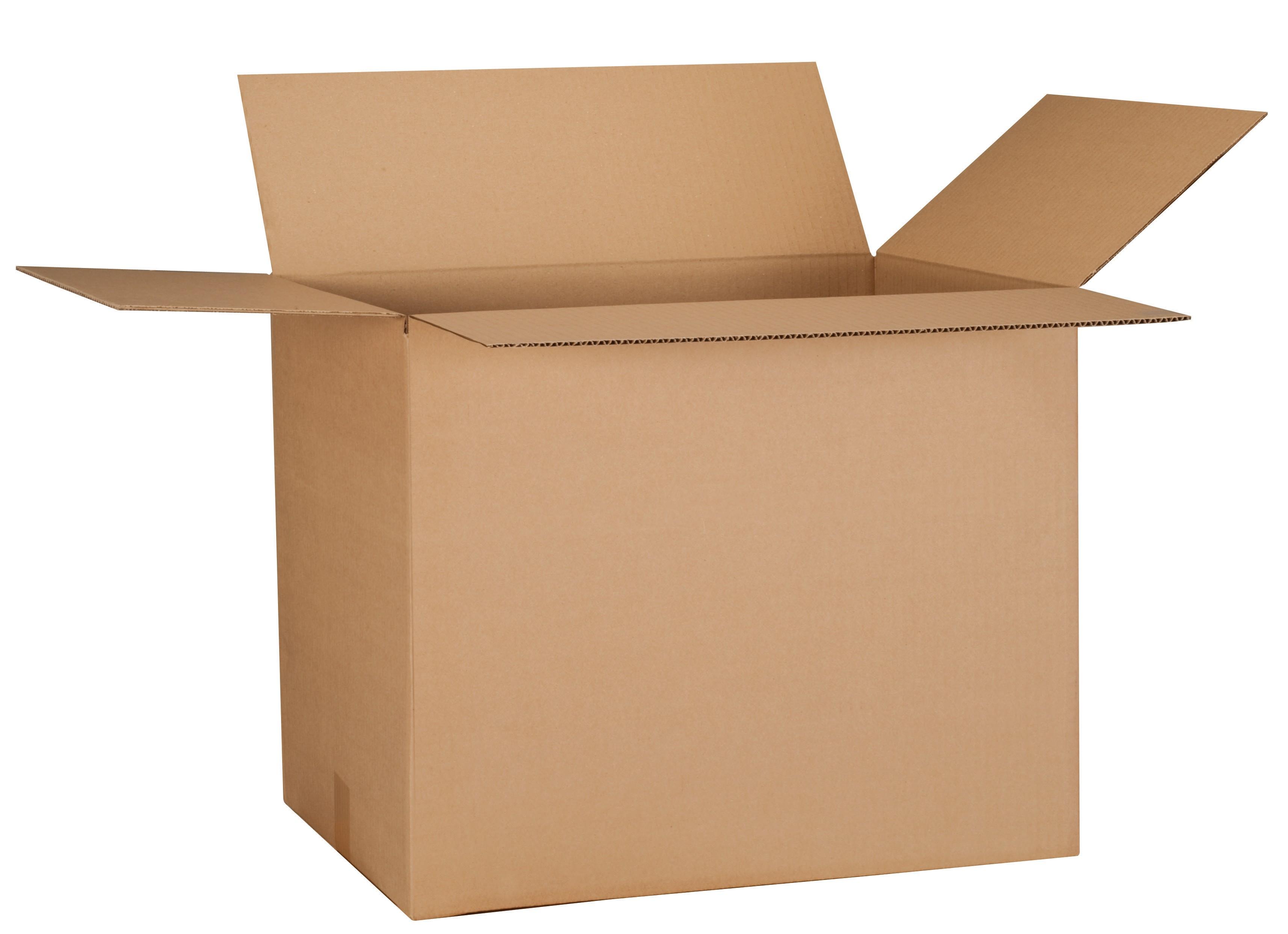 Carton Plus - Carton déménagement - 41 cm x 31 cm x 24 cm - double cannelure
