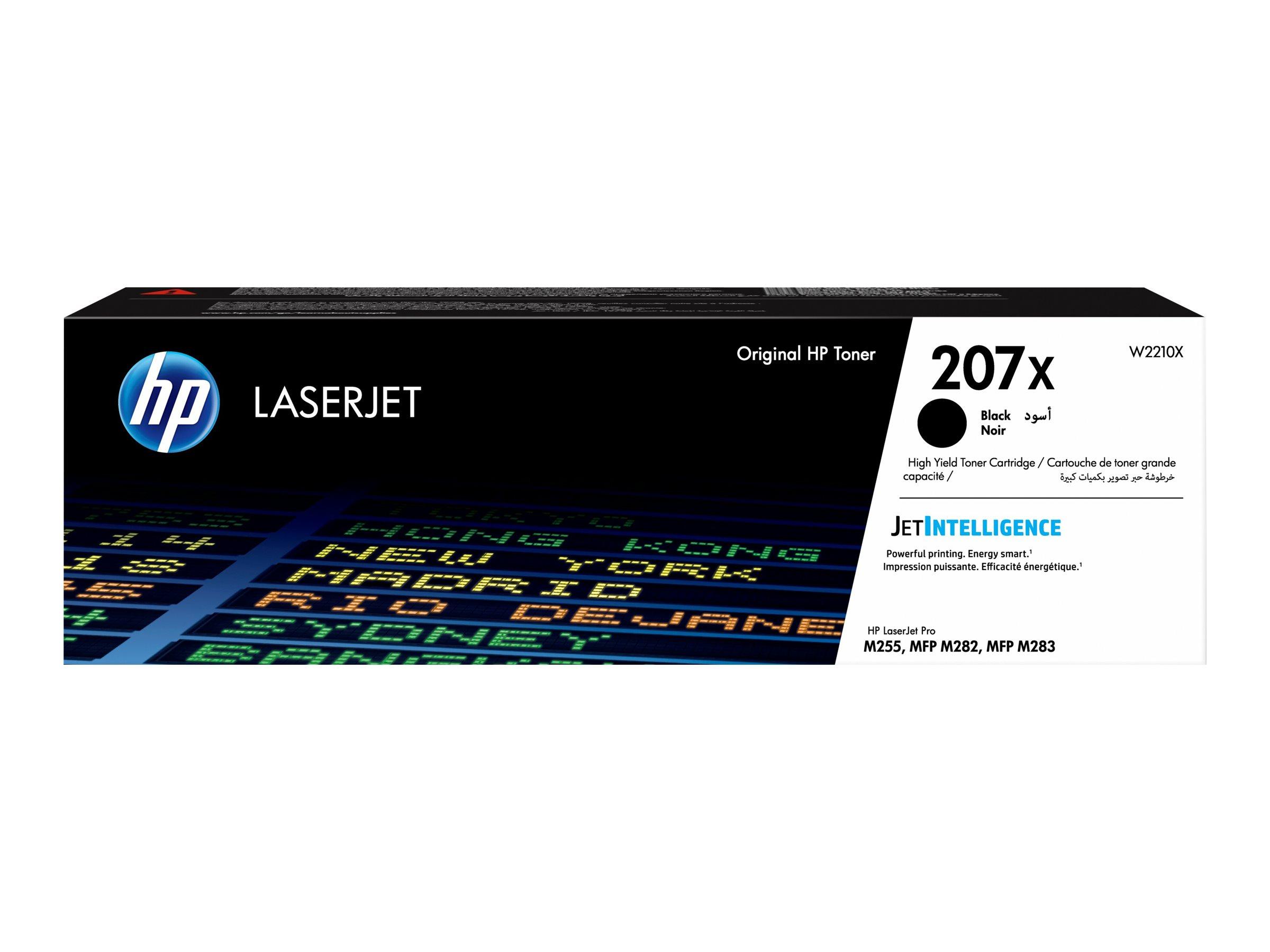 HP 207X - noir - cartouche laser d'origine