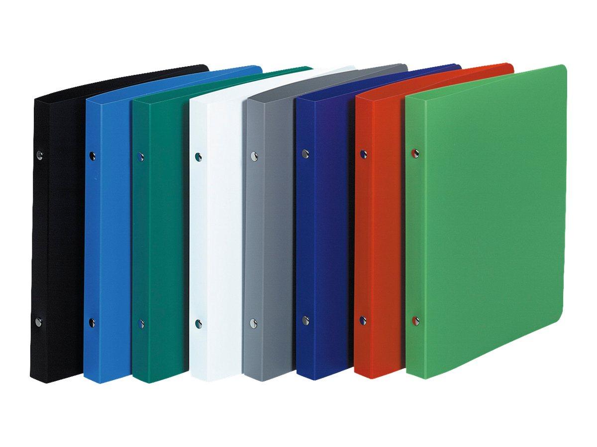 Exacompta Opak - Classeur 2 anneaux - Dos 20 mm - 17 x 22 cm - pour 100 feuilles - disponible dans différentes couleurs