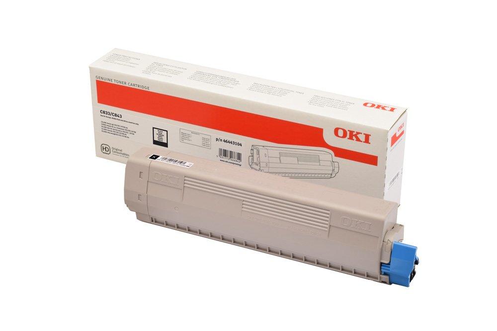 OKI 46443104 - noir - cartouche laser d'origine