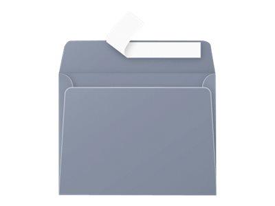 Pollen - 20 Enveloppes - 90 x 140 mm - 120 g/m² - gris