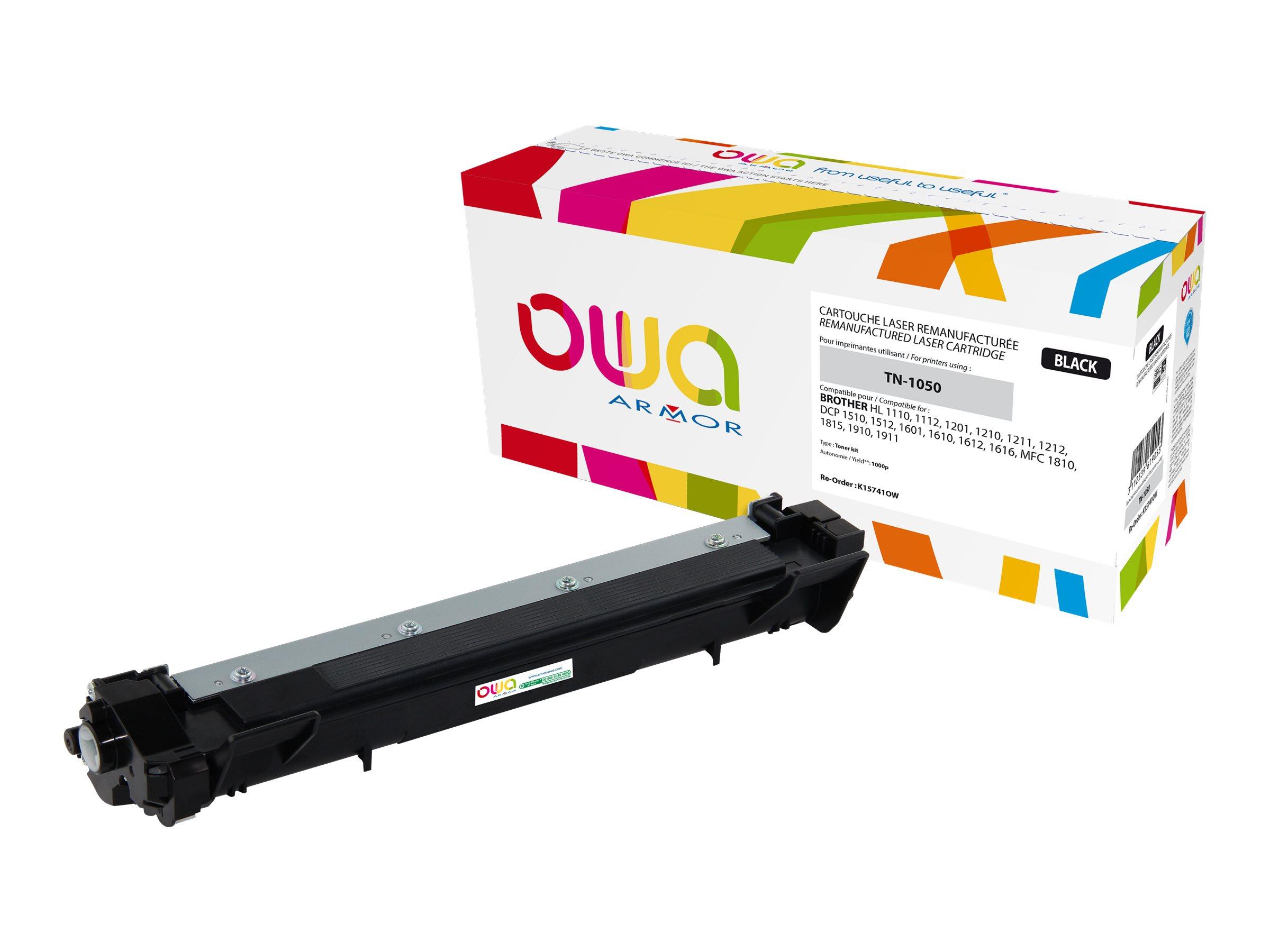 Brother TN1050 - remanufacturé Owa K15741OW - noir - cartouche laser