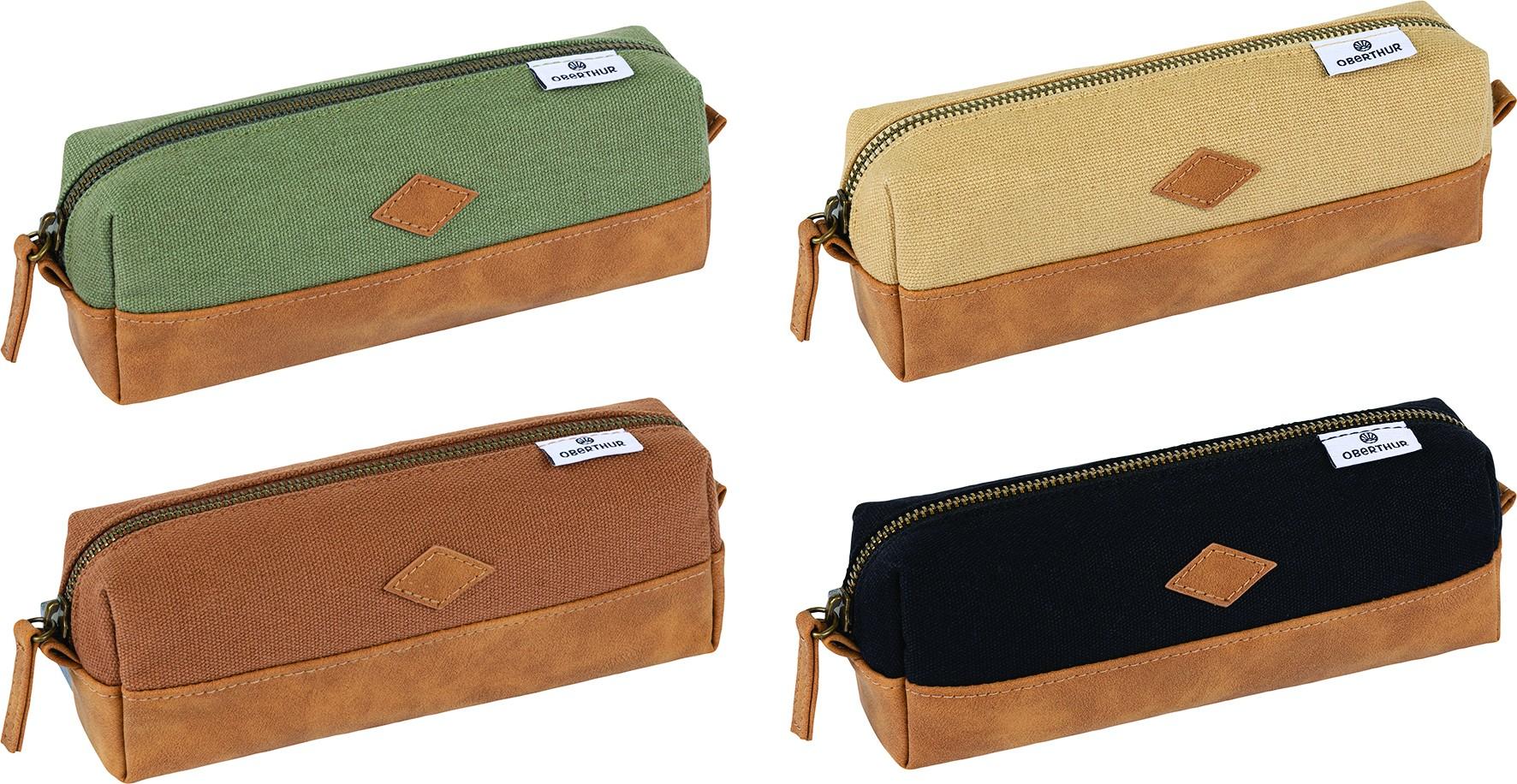 Trousse rectangulaire Colors Arizona - 1 compartiment - 4 coloris disponibles - Oberthur