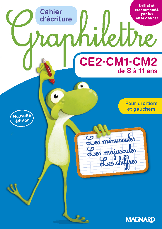 MAGNARD - Graphilettre cycle CE2-CM