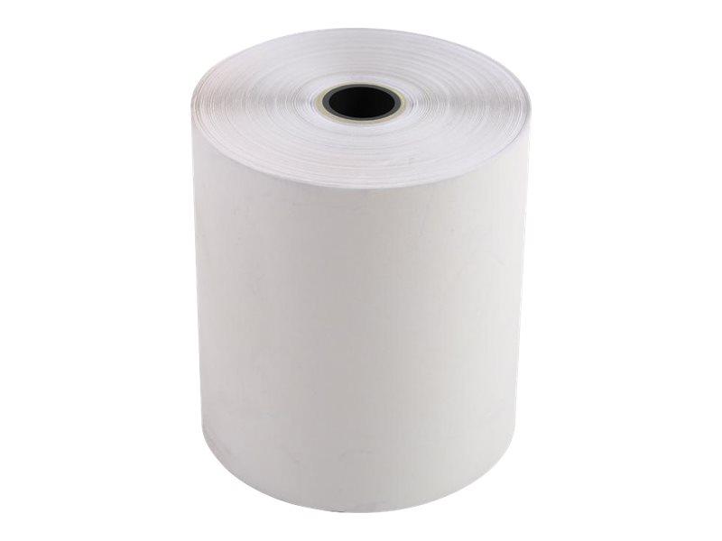 Exacompta - 10 Bobines caisses - 76 x 70 x 12 mm - 2 plis chimique autocopiant