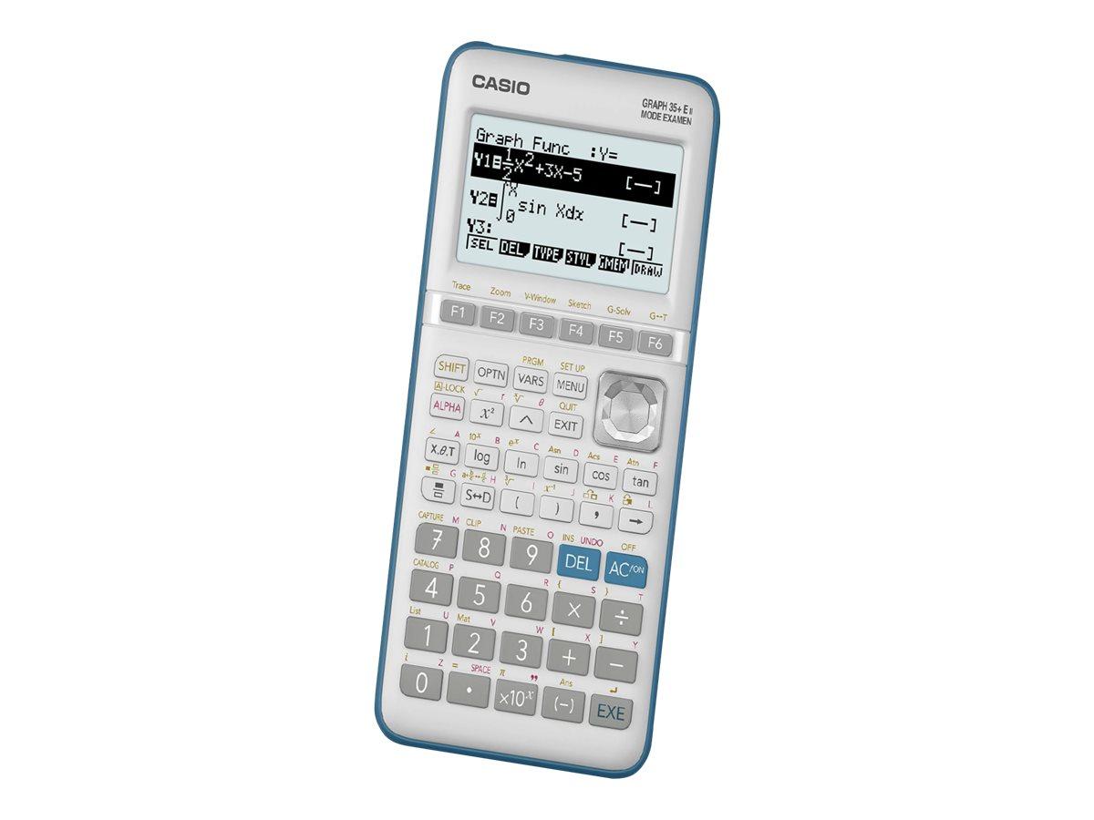 Calculatrice graphique Casio GRAPH 35+E II - mode examen intégré - Edition python