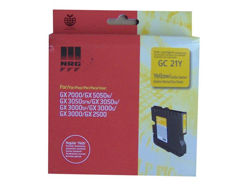 Ricoh GC 21 - jaune - cartouche d'encre originale