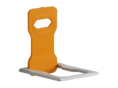 Durable Varicolor - Support de charge pour smartphone - orange