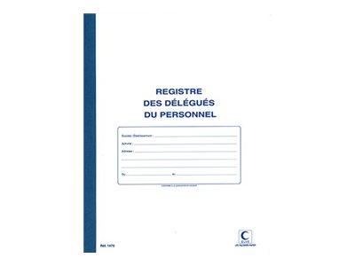 ELVE - Registre des délégués du personnel - 32 x 24 cm