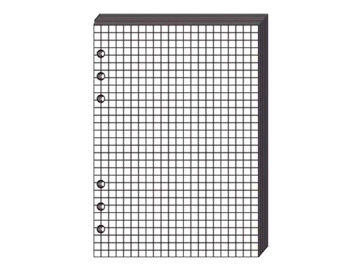 Quo Vadis Timer 21 - Recharge pour organiseur - 15 x 21 cm - bloc-notes blanc