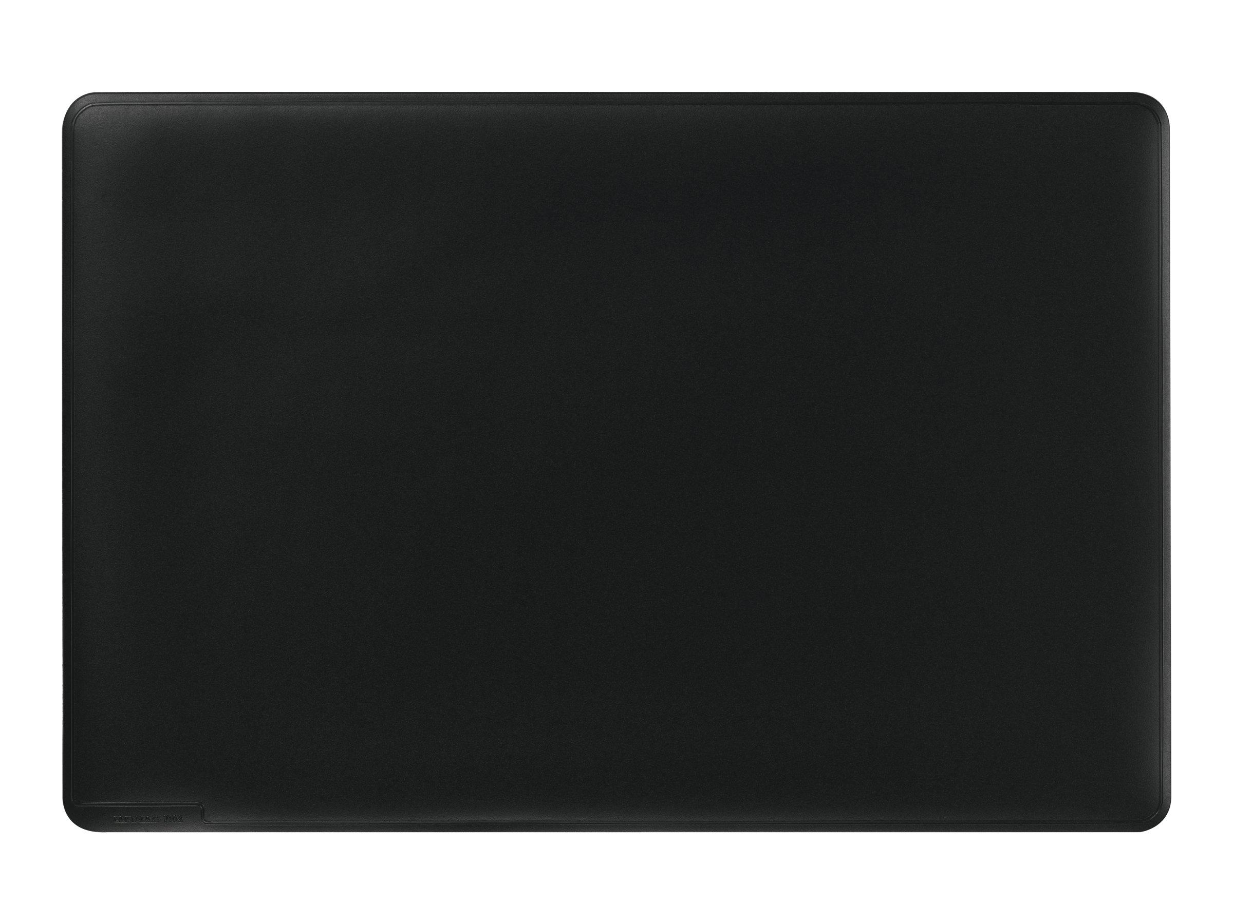 Durable - Sous-main avec rebord rainuré - noir