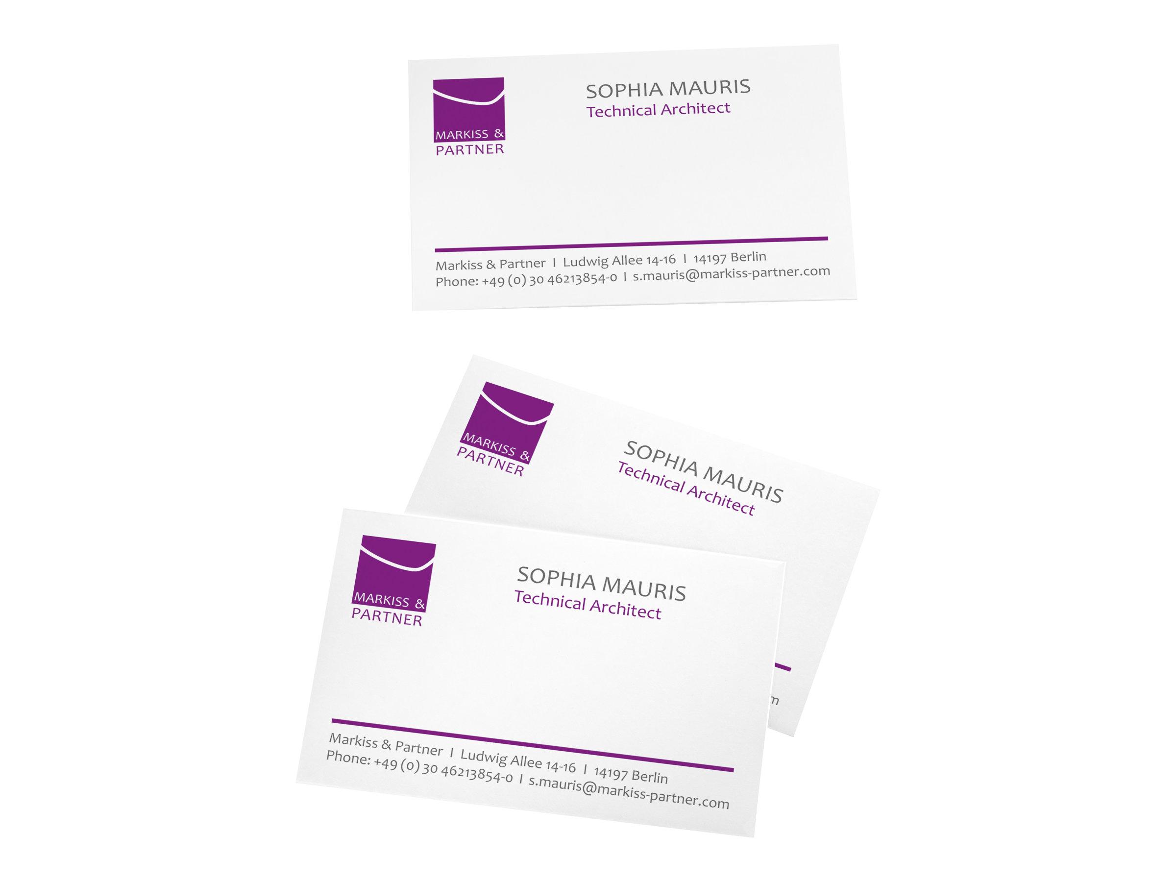 Sigel - Papier pour 150 cartes de visite 85 x 55 mm - 185 g/m²