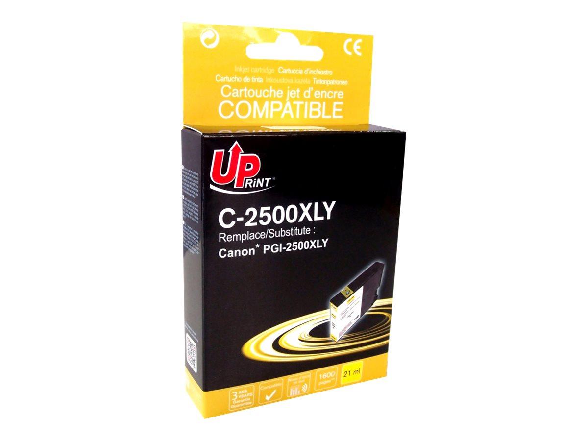 Canon PGI-2500XL - compatible UPrint C.2500XLY - jaune - cartouche d'encre