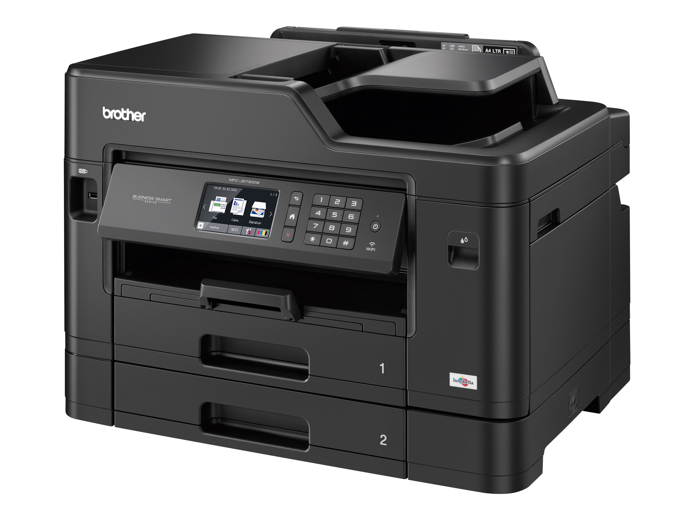 Brother MFC-J5730DW - imprimante multifonctions jet d'encre couleur A3 - Wifi, USB - recto-verso