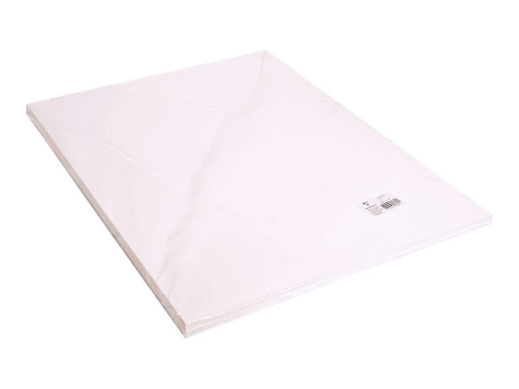Clairefontaine - Carton mousse - 50 x 65 cm - blanc - 3 mm