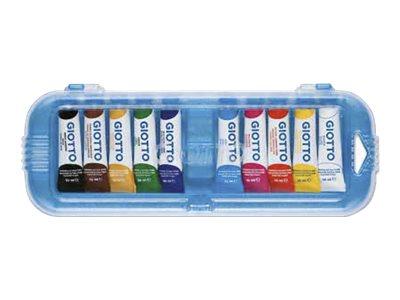 Giotto - 10 tubes peinture - gouache -