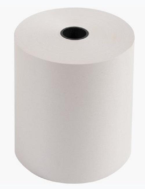Exacompta - 5 boîtes de 10 Bobines caisses - papier offset 76 x 70 x 12 mm - 42 m