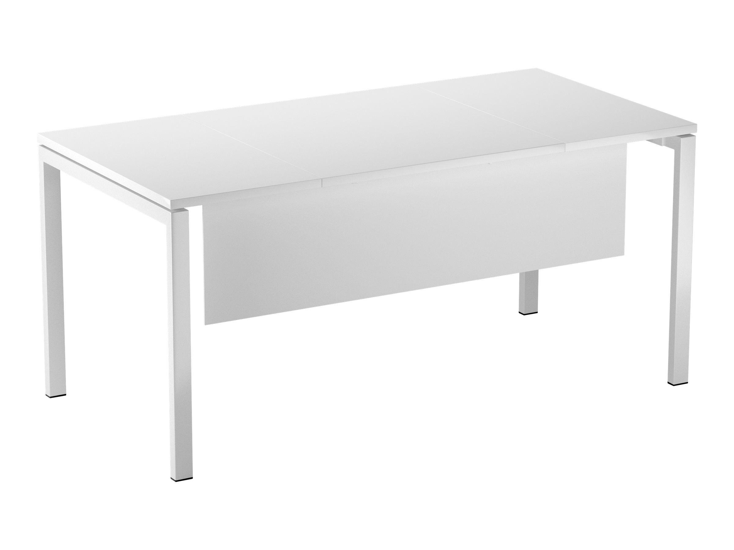 Voile de fond pour bureau EASYDESK L180cm - blanc