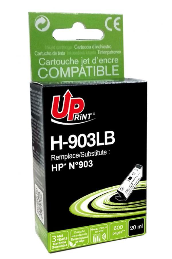 HP 903XL - remanufacturé UPrint H.903XLB - noir - cartouche d'encre
