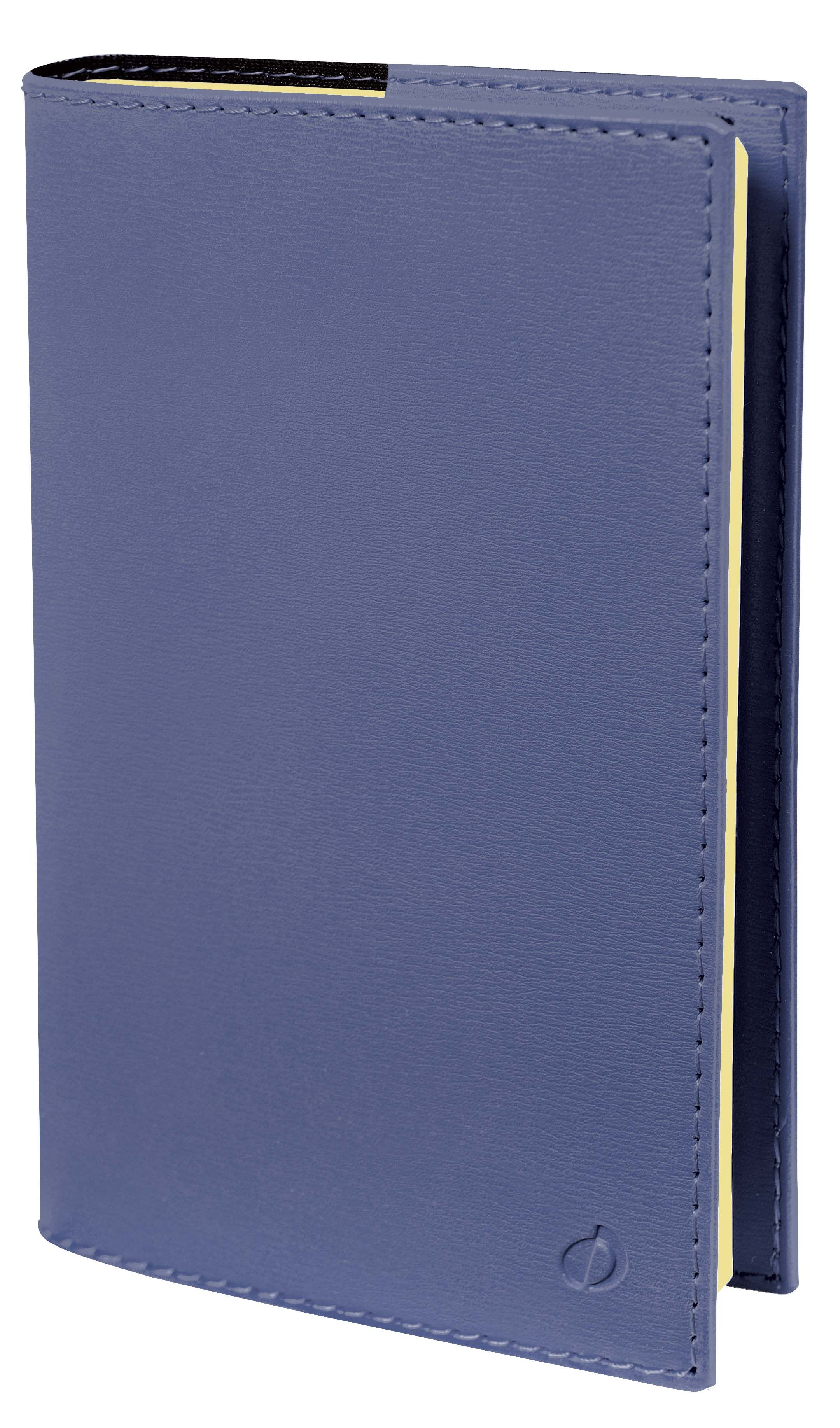 Soho Universitaire - Agenda 1 semaine sur 2 pages - 10 x 15 cm - bleu marine - Quo Vadis