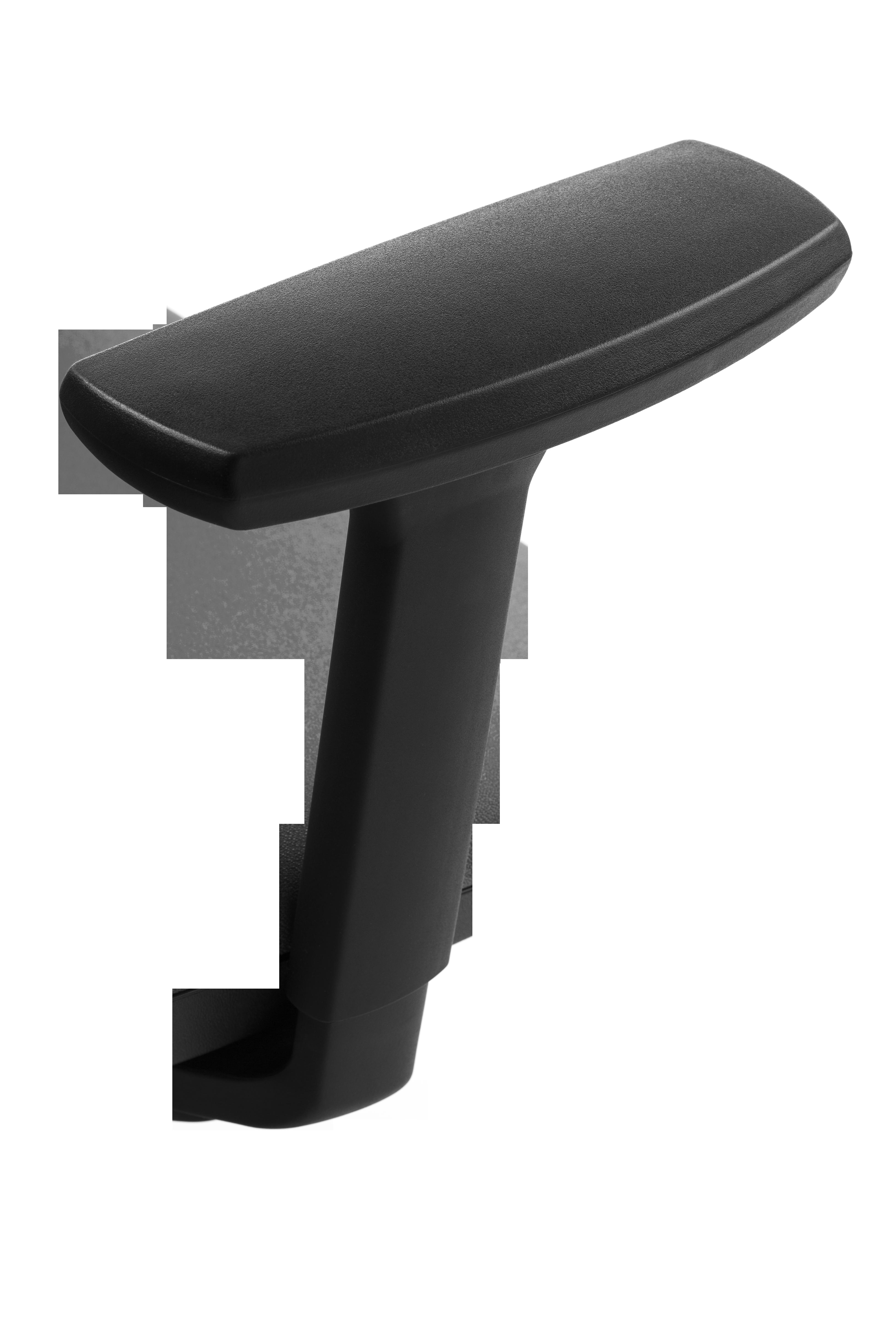Paire d'accoudoirs réglables 4D pour fauteuil ATIKA - Noir