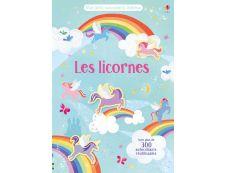 Les licornes - Mes petits autocollants Usborne