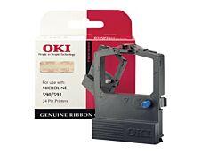 OKI 9002316 - noir - ruban d'impression original