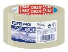 Tesapack Strong - Ruban adhésif d'emballage - 50 mm x 66 m - transparent