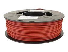 Dagoma Chromatik - filament 3D PLA - rouge brique - Ø 175 mm - 750g