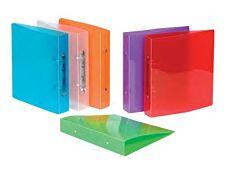 Viquel Propyglass - Classeur à anneaux - Dos 40 mm - 17 x 22 cm - pour 225 feuilles - disponible dans différentes couleurs