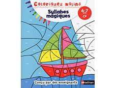 Coloriages malins - Syllabes magiques CP