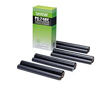 Brother PC74RF - Pack de 4 - noir - ruban d'impression original