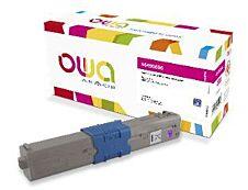 OKI 46490606 - remanufacturé OWA - magenta - cartouche laser